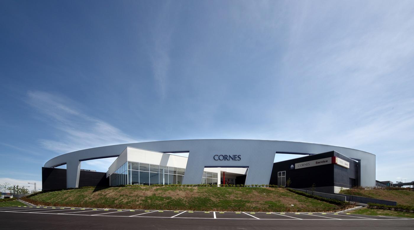 コーンズ大阪サービスセンター | 丹下都市建築設計
